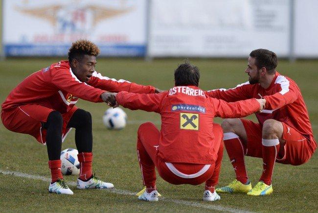 Für das ÖFB-Team hat die Vorbereitung auf dei EURO 2016 begonnen.