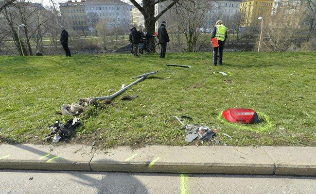 Der 73-Jährige stürzte bei dem tragischen Unfall in den Donaukanal.