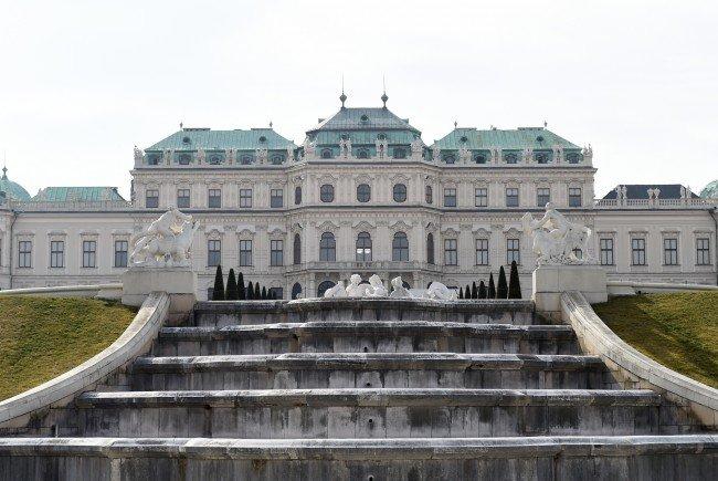 Neue Ausstellung im Belvedere.