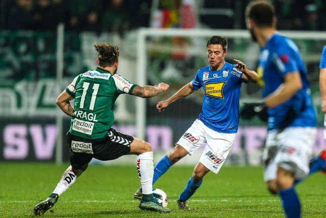 LIVE-Ticker zum Spiel SV Grödig gegen SV Ried ab 18.30 Uhr.