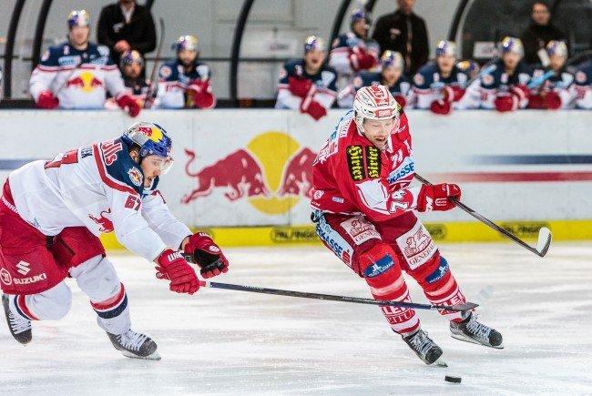 Red Bull Salzburg konnte den KAC besiegen und bekommt den letzten Halbfinalplatz.