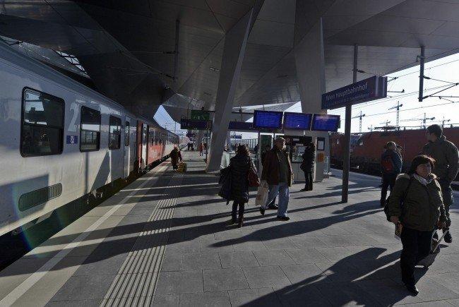 Am Hauptbahnhof nahm die Wiener Polizei einen mutmaßlichen Pkw-Einbrecher fest