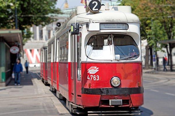Die Straßenbahnen am Ring fahren rund um Ostern nicht regulär
