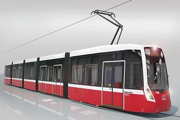 Bombardier baut auch in Wien Straßenbahnen