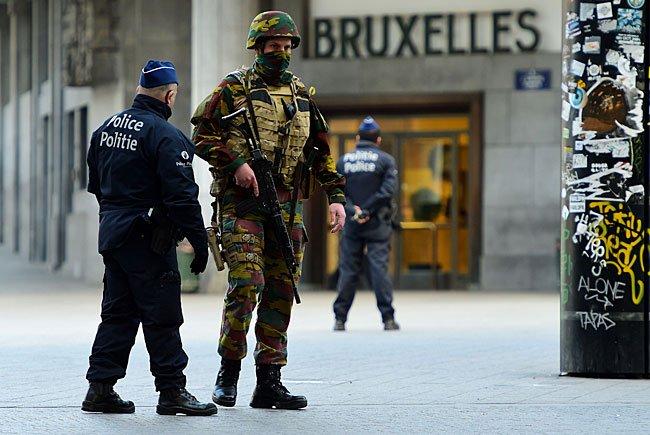 Brüssel wurde am Dienstag von Terroranschlägen erschüttert