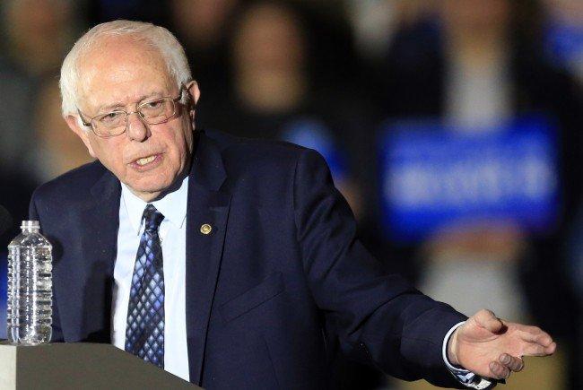 Bernie Sanders hat bei den in Österreich lebenden US-Demokraten die Nase vorne.