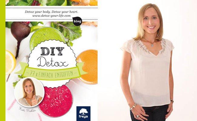 Kati Mekler hat in einem neuen Buch praktische, einfache Detox-Tipps gesammelt