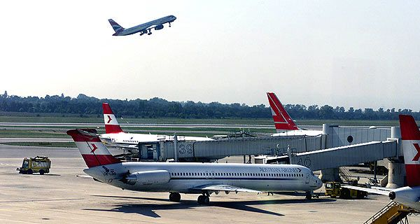 Heute wären 12 Flüge Wien-Brüssel am Flugplan - AUA-Flug umgeleitet