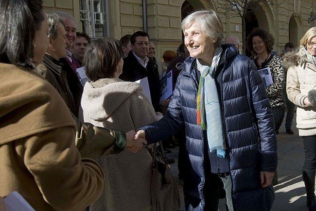 Irmgard Griss kritisierte die SPÖ wegen Aussagen zu Van der Bellen
