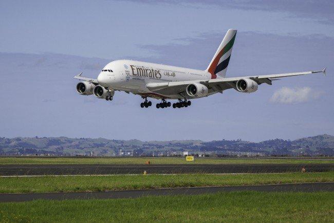 Emirates wird mit dem A380 Wien im Linienbetrieb anfliegen.