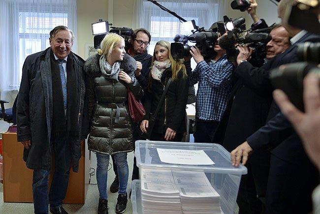 Präsidentschaftskandidat Richard Lugner startet am 4. April offiziell in den Wahlkampf