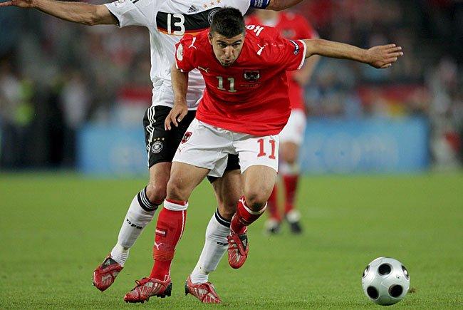 Ümit Korkmaz bei der EM 2008