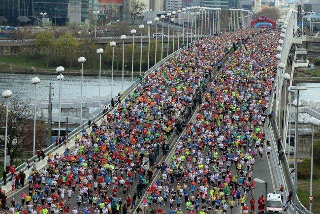 42.200 Anmeldungen beim Wien-Marathon 2016.