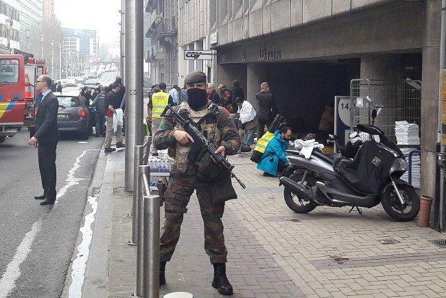 Die Gefahr in Brüssel wird jetzt höher eingestuft - Reisen in das Gebiet sollen vermieden werden.