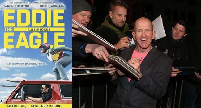 Eddie The Eagle: Autogrammstunden und Photocalls