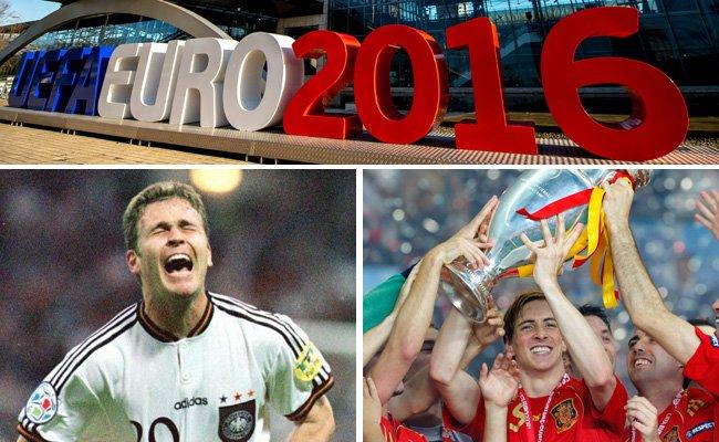 Die Fußball-Europameisterschaften in Zahlen.