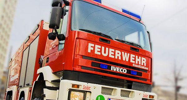 Die Feuerwehr musste zu einem Brand in Wiener Neustadt ausrücken