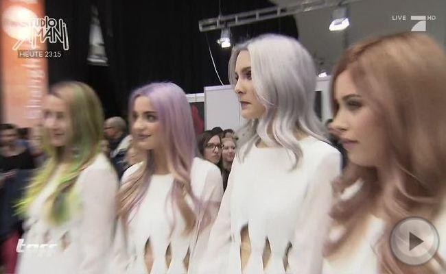 Der Metallic-Look ist einer der Haar- und Beauty-Trends 2016.