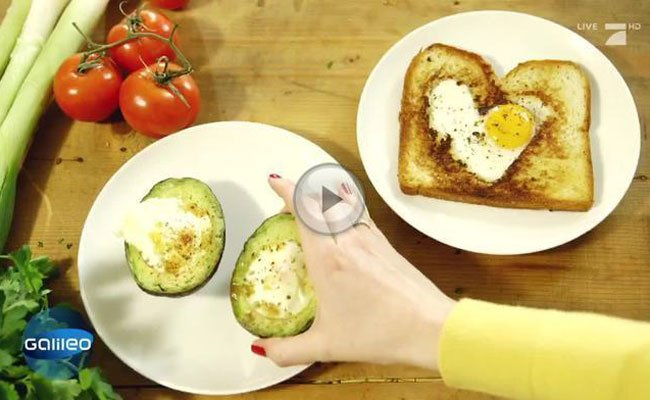 Unter #egglove findet man kreative Eier-Speisen.