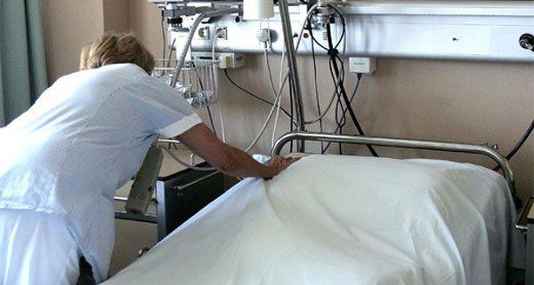 In dem Krankenhaus in Wien-Donaustadt randalierte ein Patient