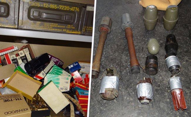 Hochgefährliches Kriegsmaterial und Munition bei Wohnungsräumung sichergestellt