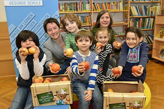 Das Wiener Schulfruchtprogramm wird erweitert