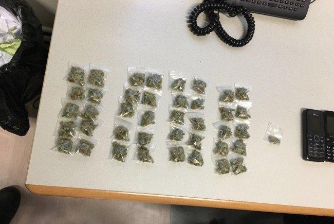 Diese Baggies wurden beim Verdächtigen gefunden.