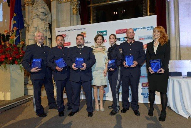 """Die Preisträger der """"133er-Awards""""."""
