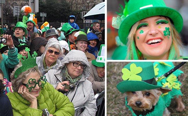 Nicht nur in Irland findet eine St. Patrick's Day Parade statt