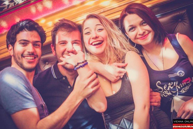 Süße Partynacht: So wurde am Iceberg und in der Innenstadt gefeiert