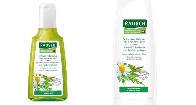 Haarpflege-Package von Rausch gewinnen.