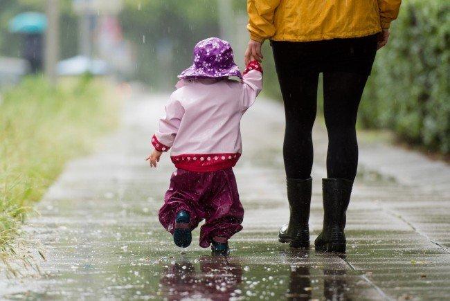 Der Regen bleibt uns nächste Woche nicht erspart.