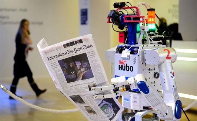 Die Roboter tummeln sich am Wochenende in Wien.
