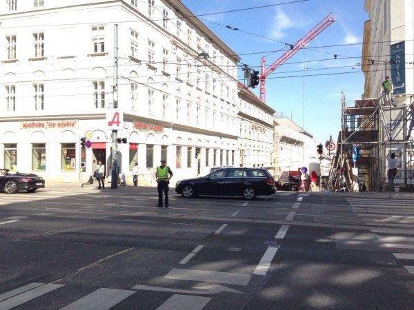 Stromausfall in Wien: Auch Ampeln waren vom Ausfall betroffen.
