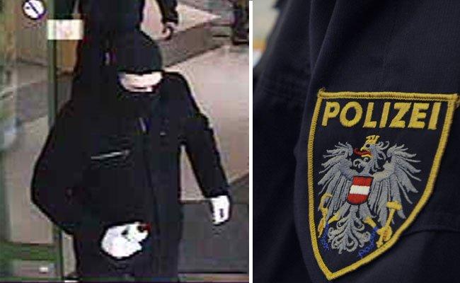 Die Polizei sucht nach dem Wiener Neustädter Bankräuber.