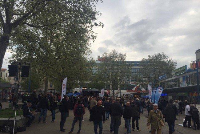 """Demos in Wien: Gegen """"Massenquartiere"""" für Flüchtlinge und gegen die FPÖ"""
