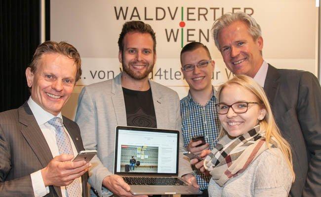 Die neue Plattform soll Waldviertler vernetzen und das Leben in der Stadt erleichtern.
