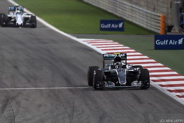 Rosberg gewann auch den zweiten WM-Lauf 2016