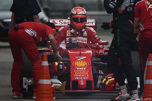 Räikkönen war im Training von Schanghai Tagesschnellster
