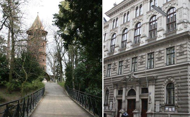 In den Straßennamen in Währing findet man noch reichlich Spuren von der Geschichte