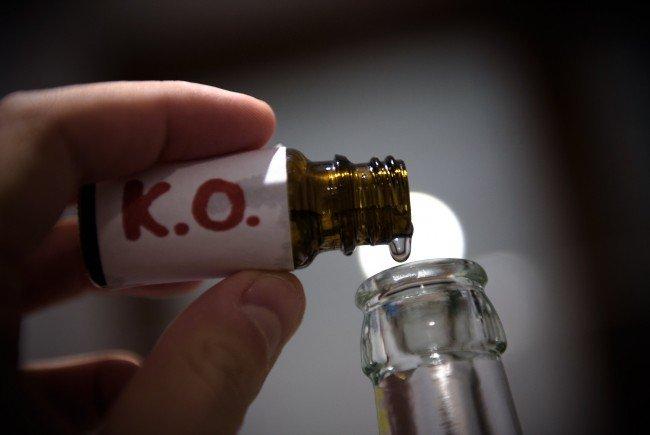 K.o.-Tropfen - Mehr Anzeigen bei Straftaten mit Betäubungsmitteln