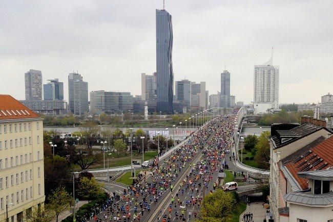 Erste positive Bilanz für den 33. Vienna City Marathon
