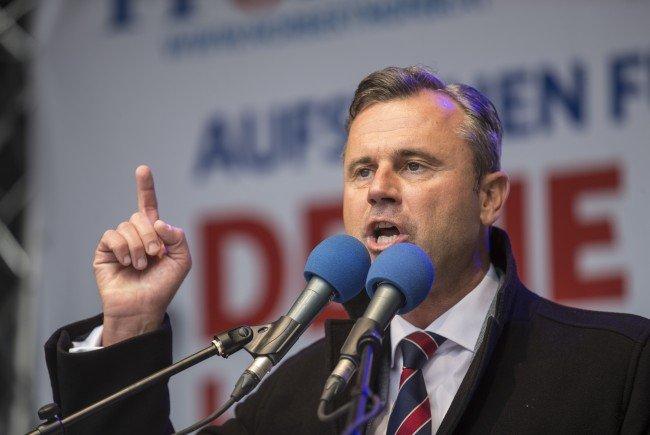 FPÖ-Präsidentschaftskandidat Norbert Hofer.