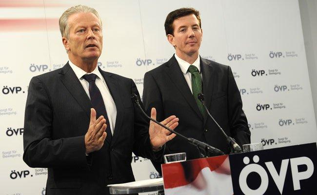 Bei der ÖVP-Tagung ist auch die Bundespräsidentenwahl ein Thema.