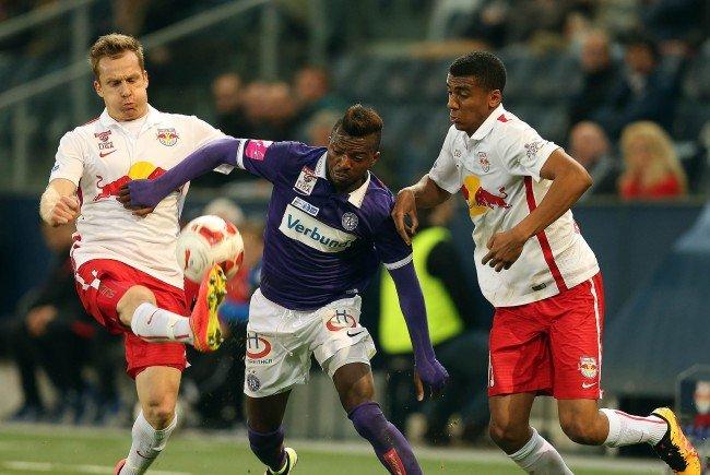 LIVE-Ticker zum Spiel FK Austria Wien gegen Red Bull Salzburg ab 16.30 Uhr.