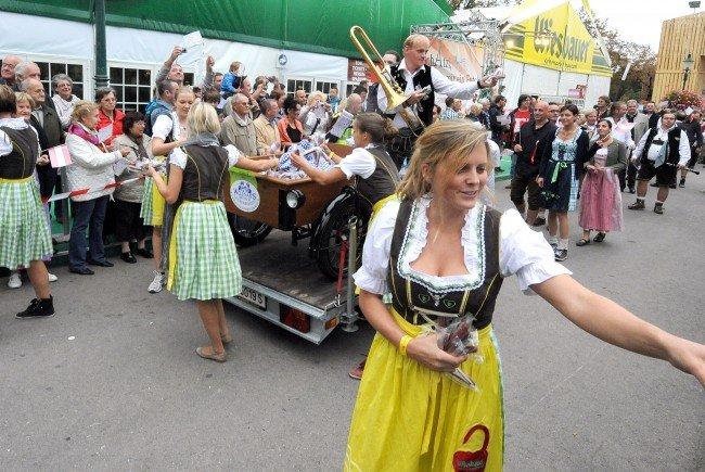 Im Herbst steht die Wiener Wiesn wieder auf dem Programm.