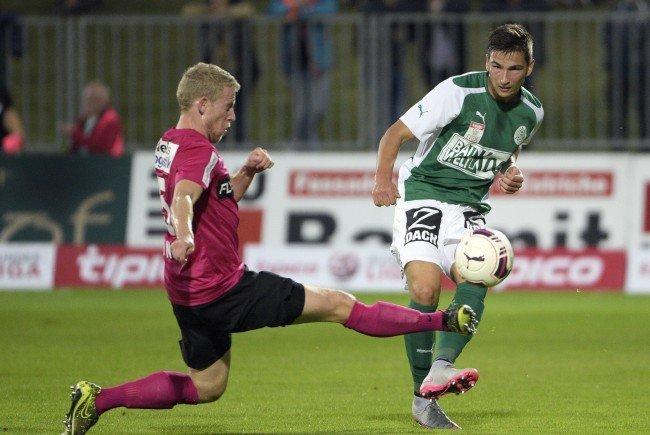Fußball: Duell um begehrten vierten Platz zwischen SVM und Admira