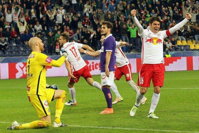 Der Traum vom Cup-Finale ist nach der 2:5-Niederlage für Austria Wien geplatzt.