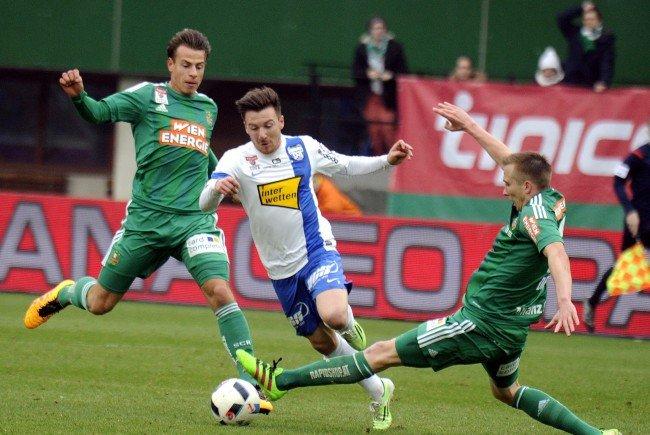 LIVE-Ticker zum Spiel SV Grödig gegen SK Rapid Wien ab 16.00 Uhr.