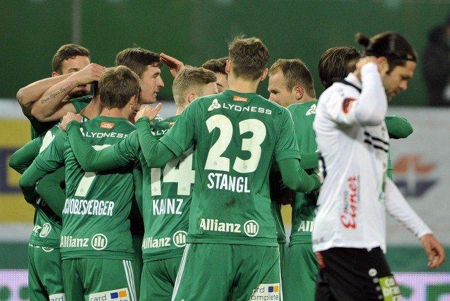LIVE-Ticker zum Spiel WAC gegen SK Rapid Wien ab 18.30 Uhr.
